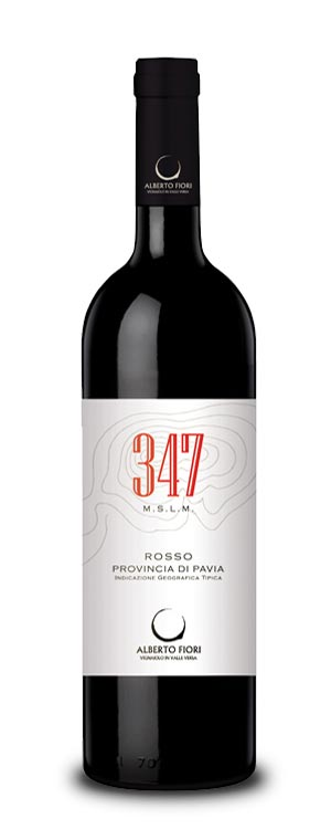 347 M.S.L.M. Provincia di Pavia IGT – Rosso