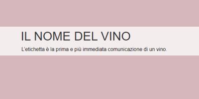 Il Nome del Vino - Logo