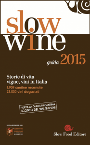 Slow Wine 2015 - Cover