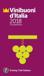 Vinibuoni d'Italia 2018 - Copertina