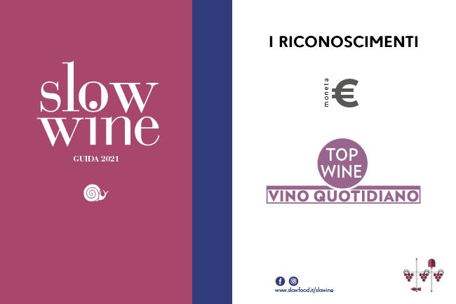Slow Wine 2021 - Riconoscimenti