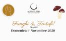 Menu funghi e tartufi (01/11/2020)