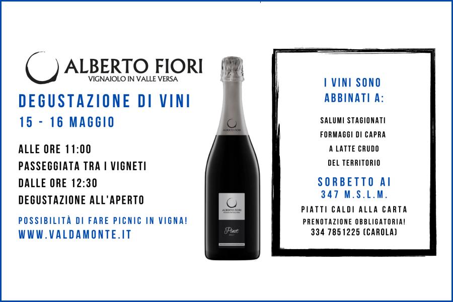 Degustazione di vini (15-16 maggio 2021)